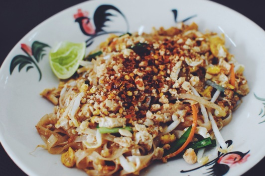 Phad Thai made from scratch